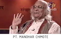 Pt. Manohar Chimote